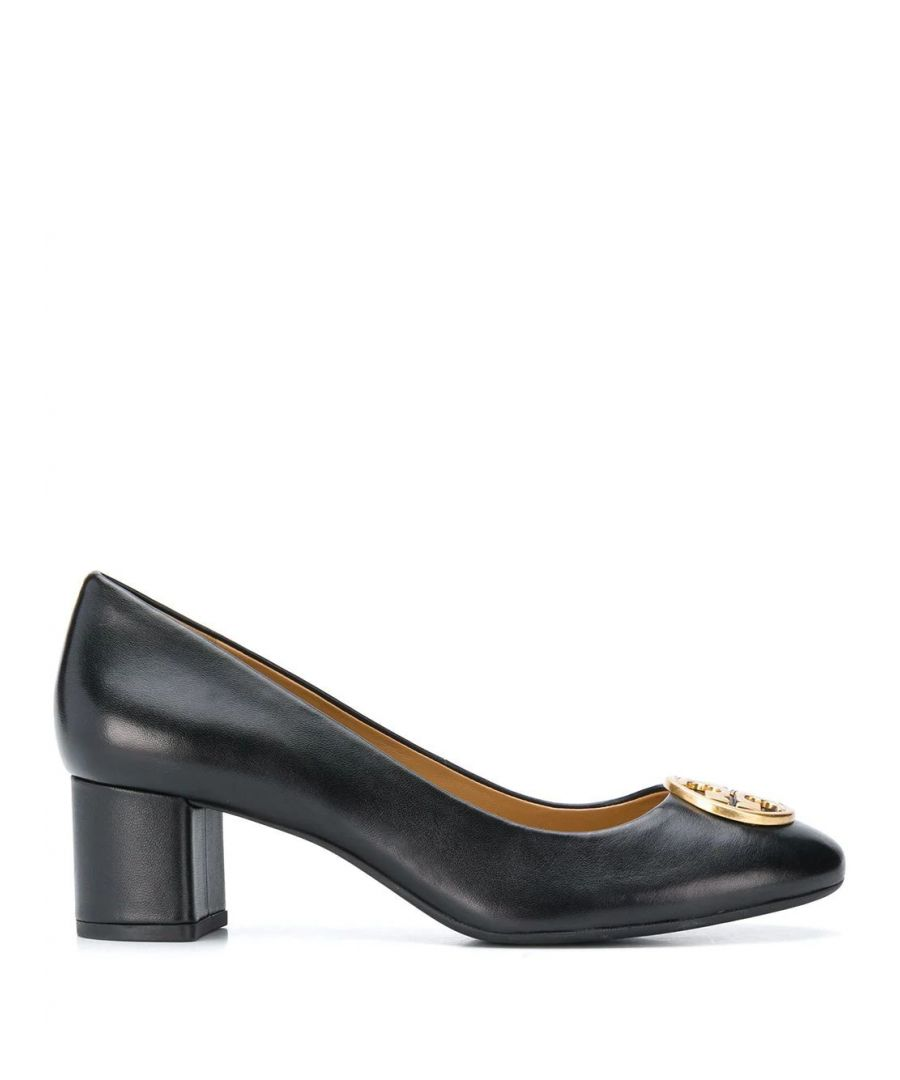 Image for TORY BURCH WOMEN'S 45900006 BLACK LEATHER PUMPS