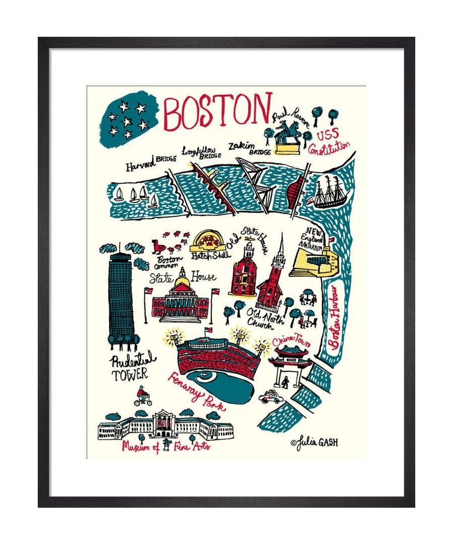 Image for Boston Cityscape by Julia Gash