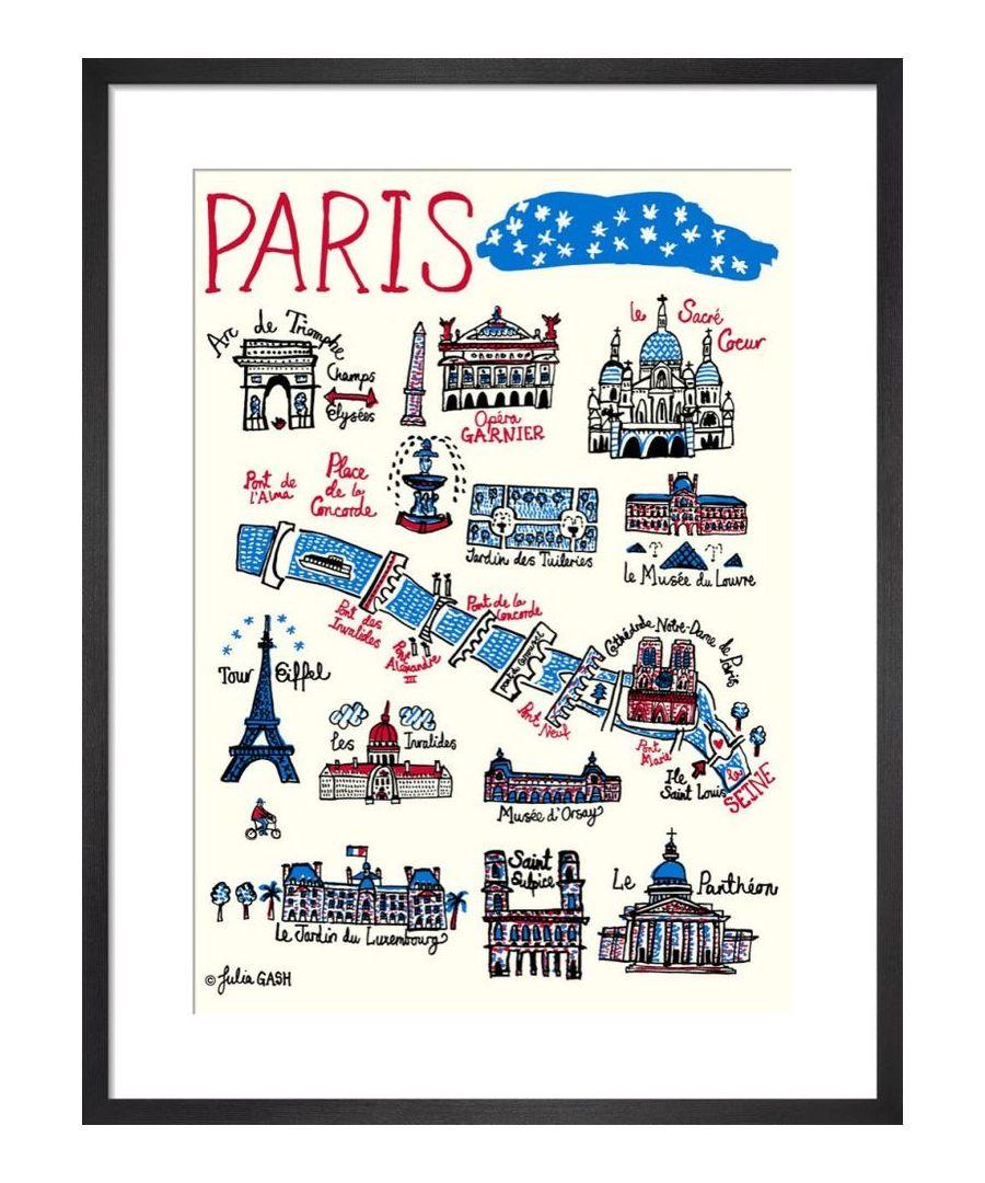 Image for Paris Cityscape by Julia Gash