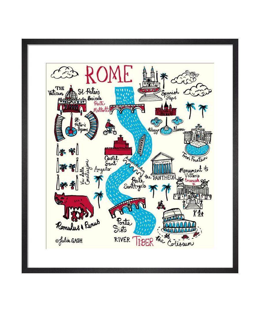 Image for Rome Cityscape by Julia Gash