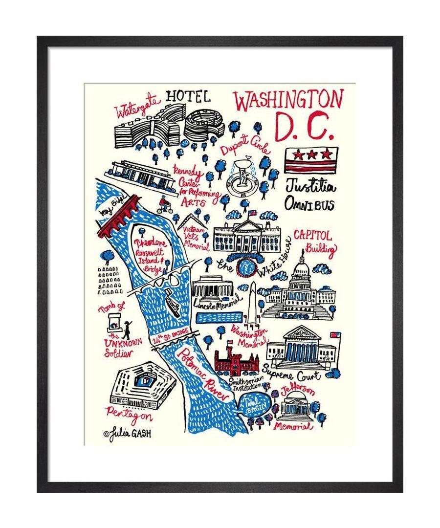Image for Washington DC Cityscape by Julia Gash
