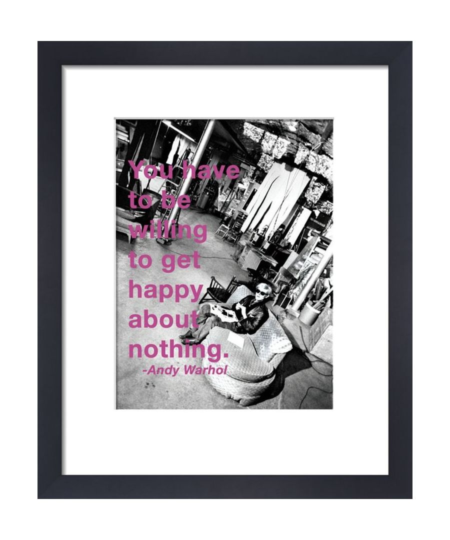 Image for Get Happy by Andy Warhol
