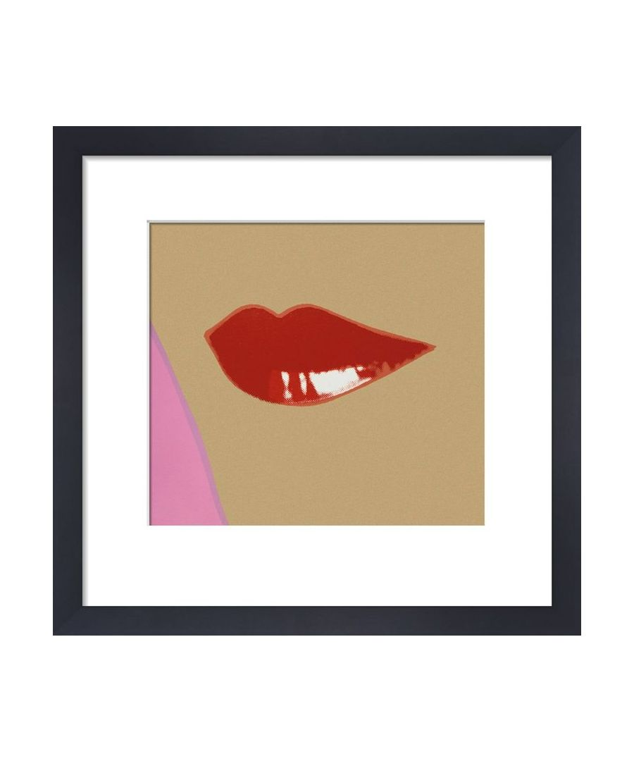 Image for 2 page from Lips Book, c.1975 by Andy Warhol