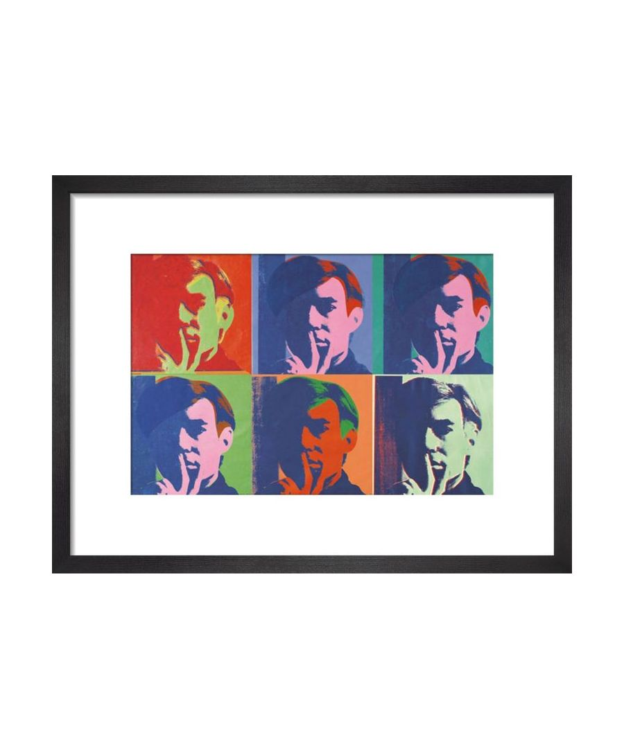 Image for A Set of Six Self-Portraits, 1967 by Andy Warhol