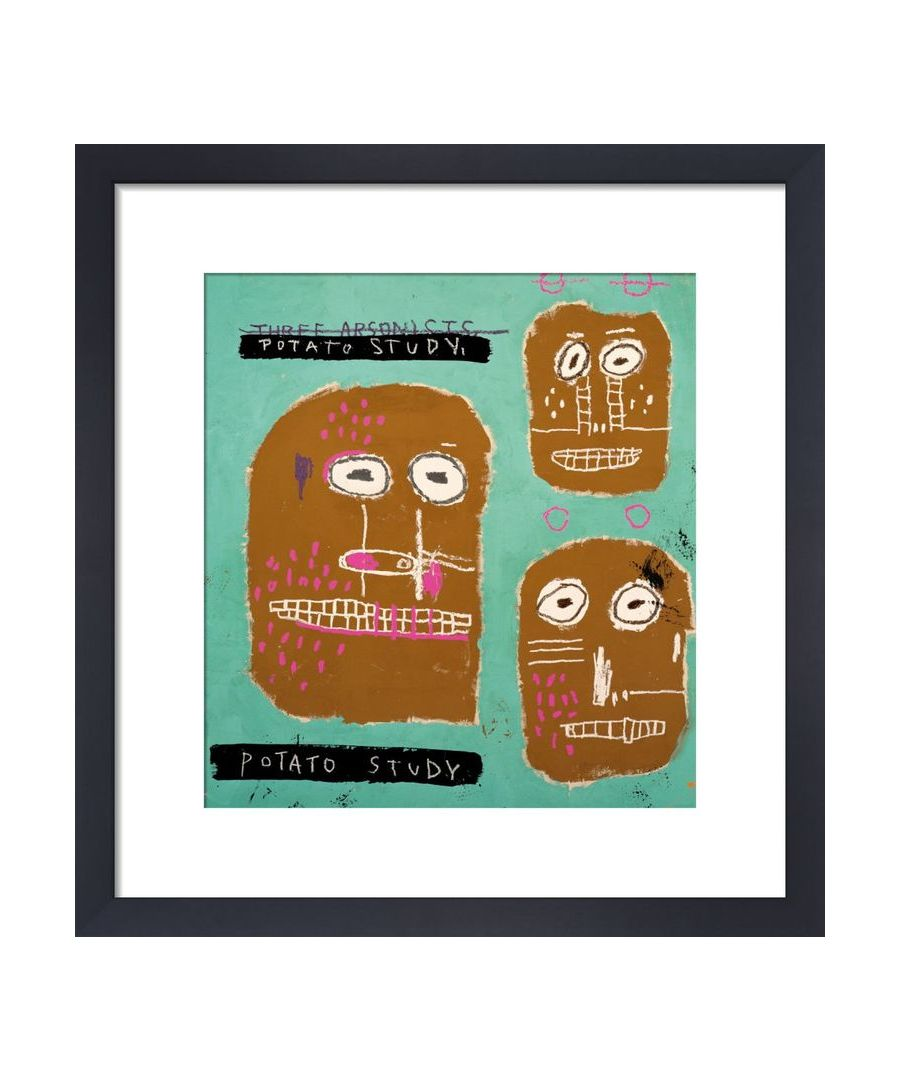 Image for Three Arsonists, 1983 (Potato Study) by Jean-Michel Basquiat