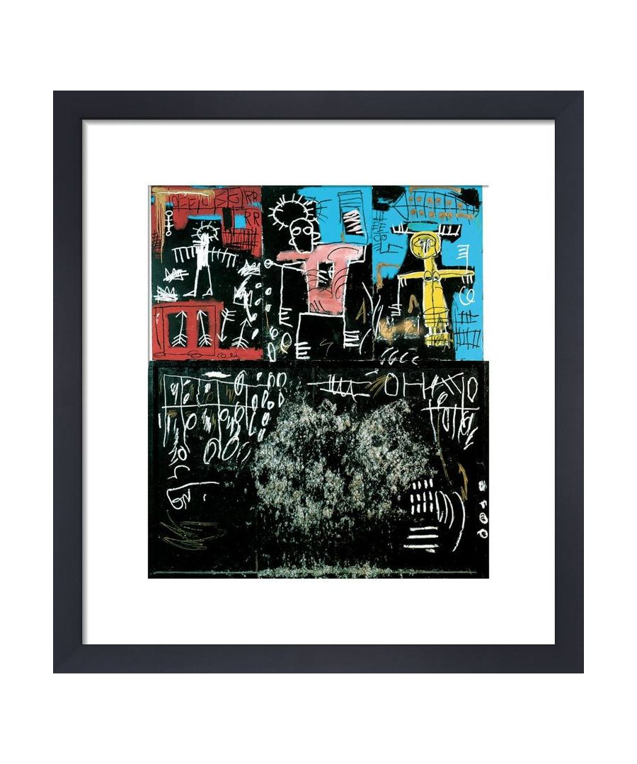 Image for Untitled (Black Tar and Feathers) 1982 by Jean-Michel Basquiat