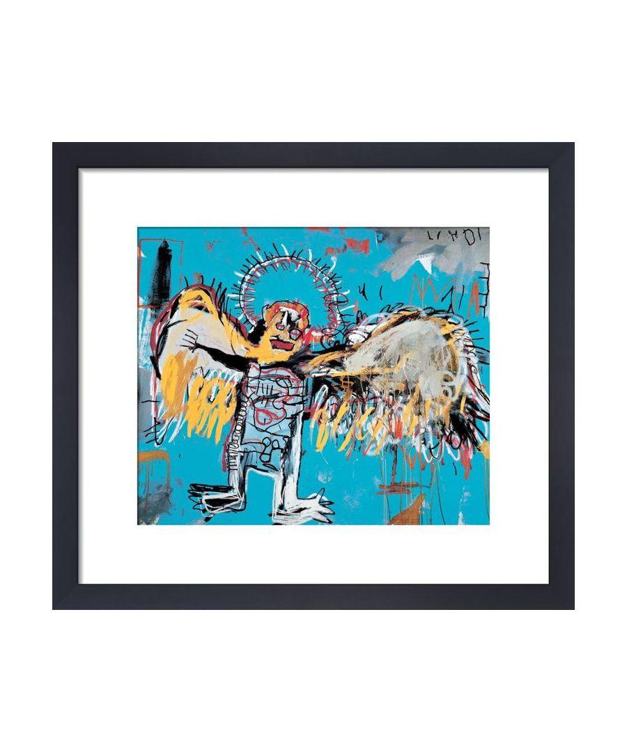Image for Untitled (Fallen Angel) 1981 by Jean-Michel Basquiat
