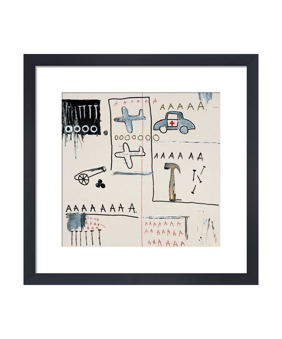 Image for Untitled (Vehicles) 1981 by Jean-Michel Basquiat