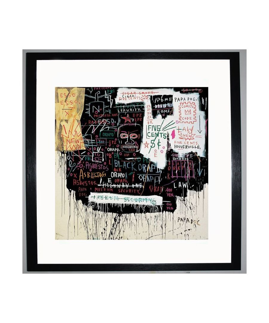 Image for Museum Security (Broadway Meltdown) 1983 by Jean-Michel Basquiat