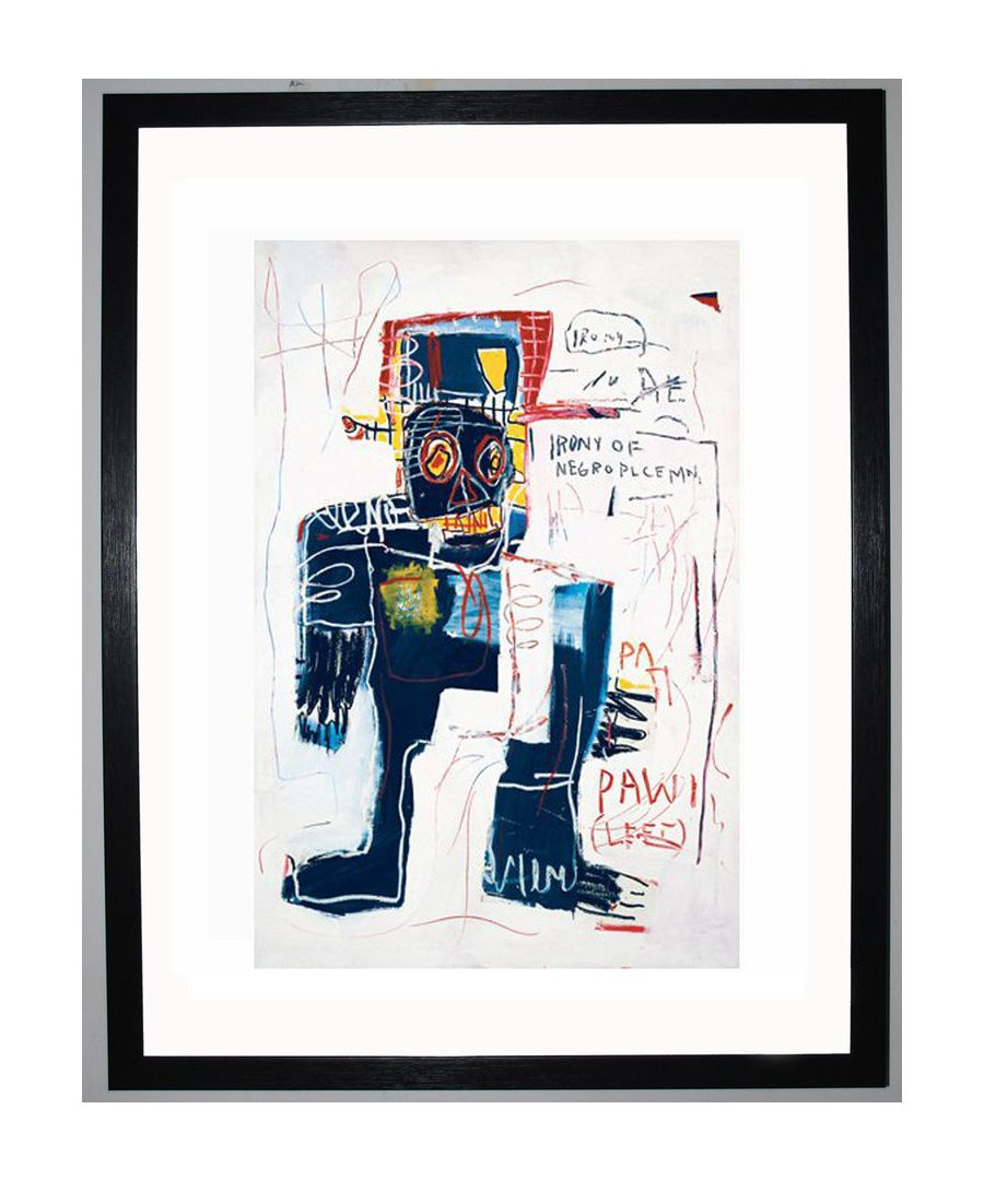 Image for Irony of Negro Policeman, 1981 by Jean-Michel Basquiat
