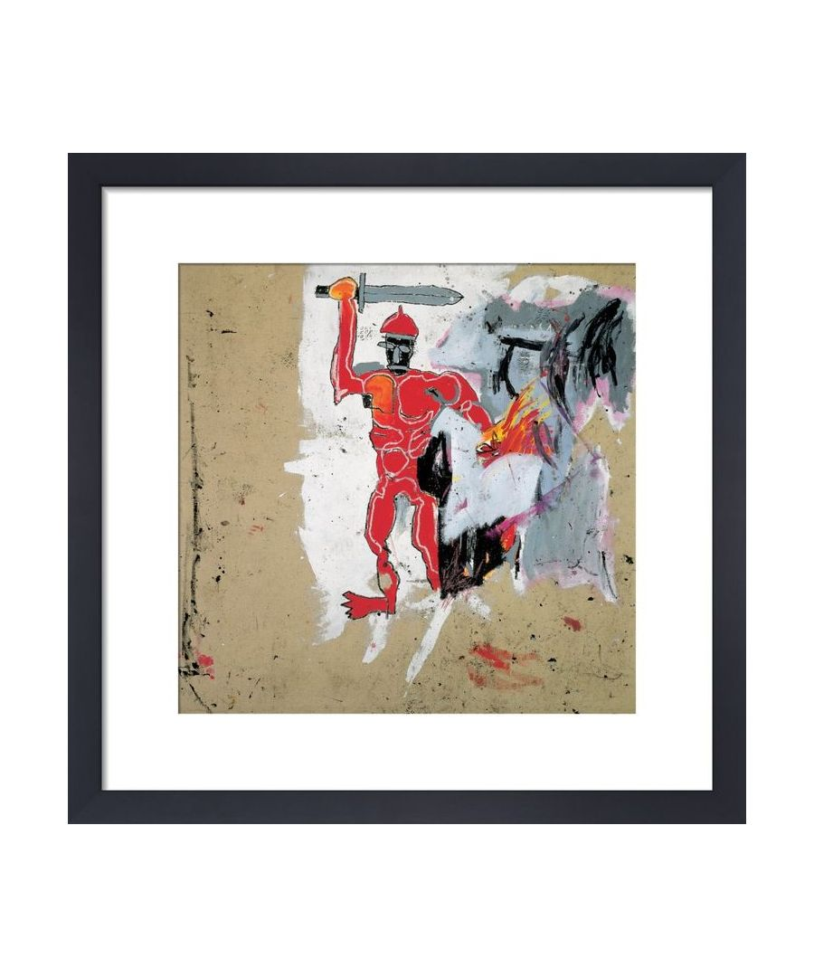 Image for Untitled (Red Warrior) 1982 by Jean-Michel Basquiat