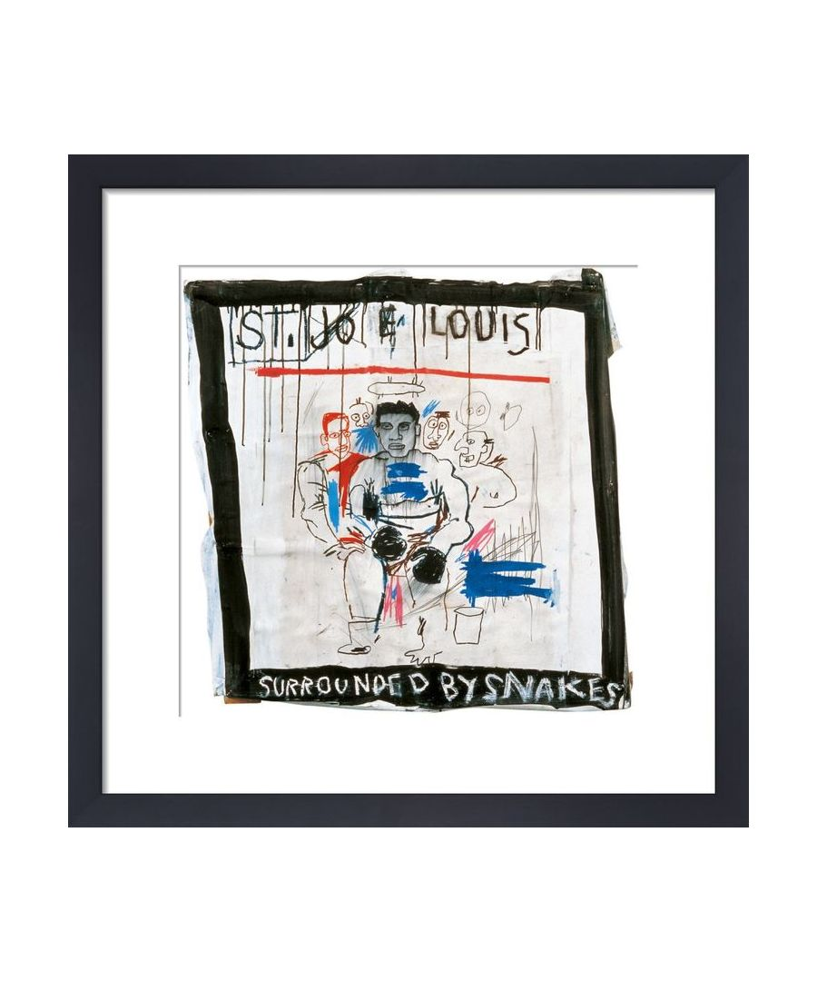 Image for St. Joe Louis surrounded by Snakes, 1982 by Jean-Michel Basquiat