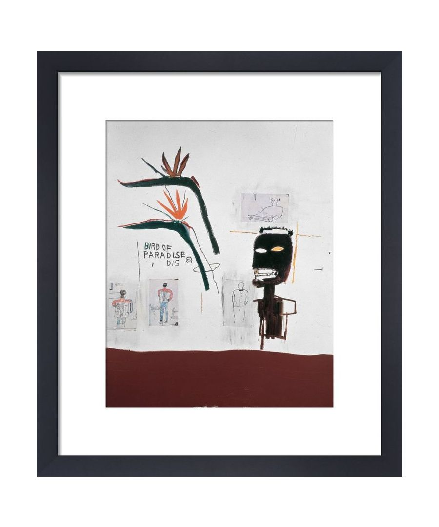 Image for Bird of Paradise, 1985 by Jean-Michel Basquiat