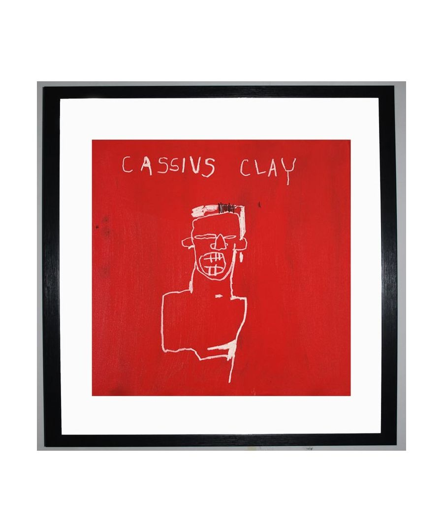 Image for Cassius Clay, 1982 by Jean-Michel Basquiat