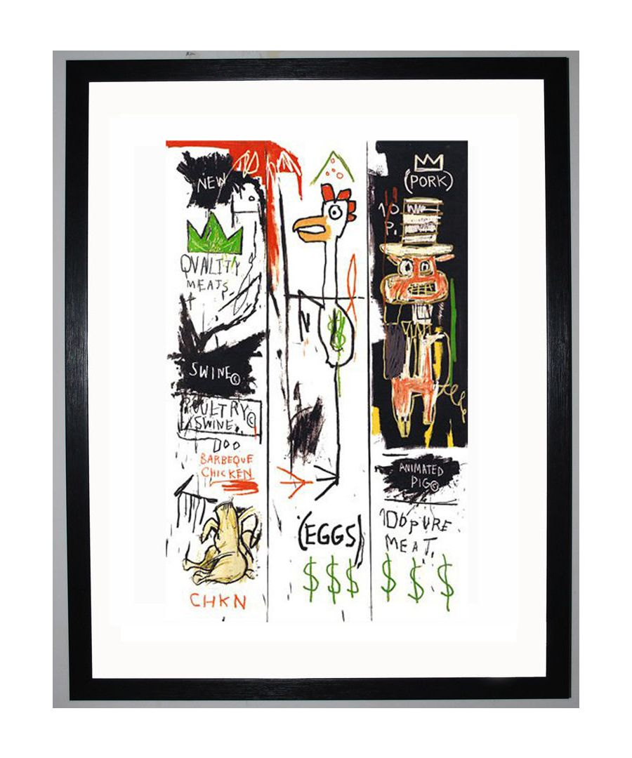 Image for Quality Meats for the Public, 1982 by Jean-Michel Basquiat
