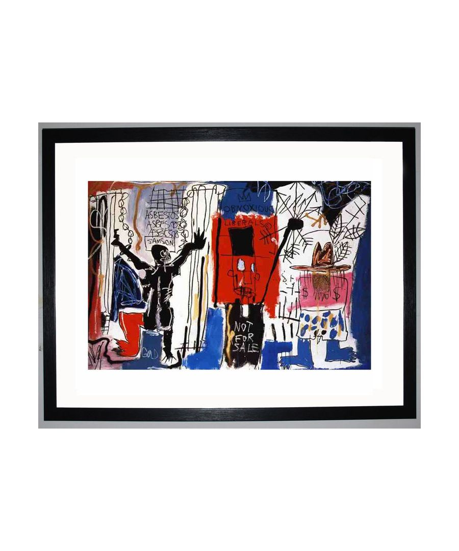 Image for Obnoxious Liberals, 1982 by Jean-Michel Basquiat