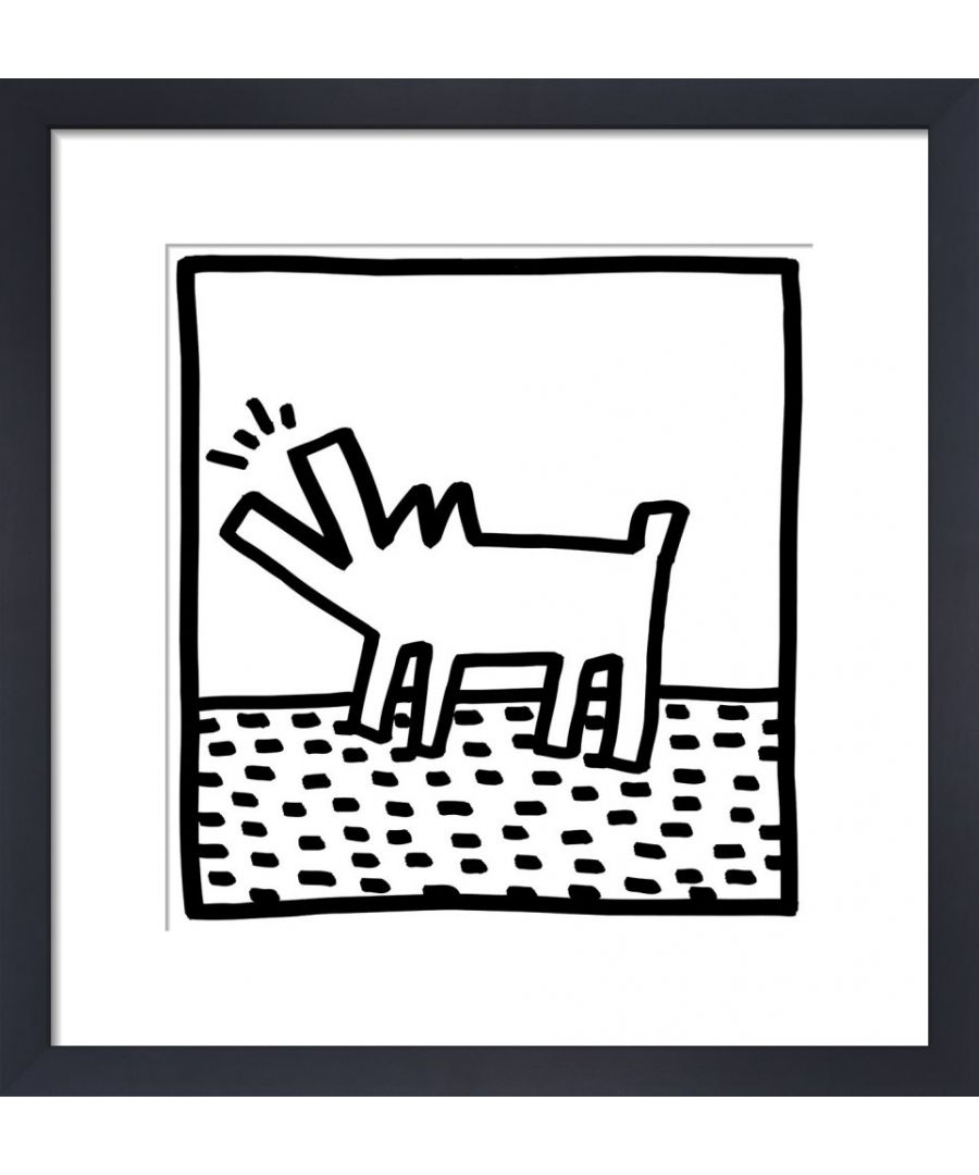 Image for Untitled, (barking dogs) by Keith Haring