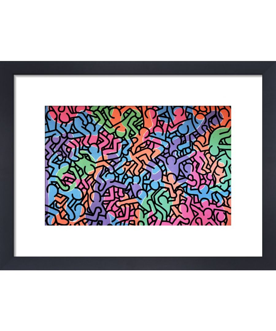 Image for Untitled, 1985 (figures) by Keith Haring