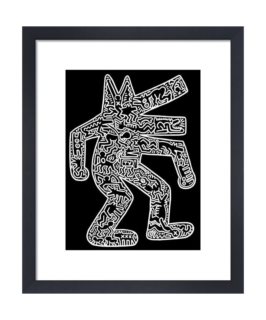 Image for Dog, 1985 by Keith Haring