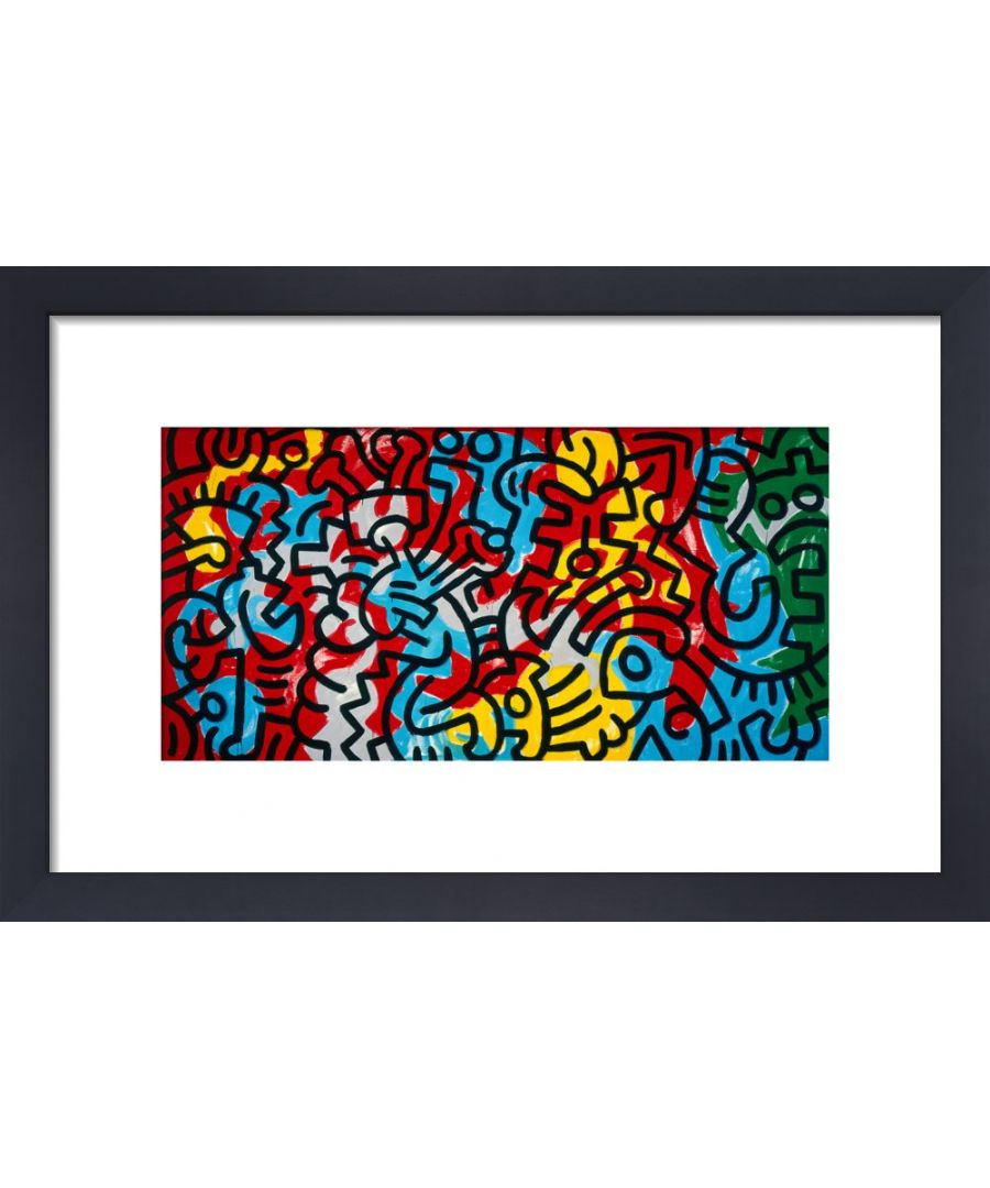 Image for Untitled, 1985 (abstract) by Keith Haring