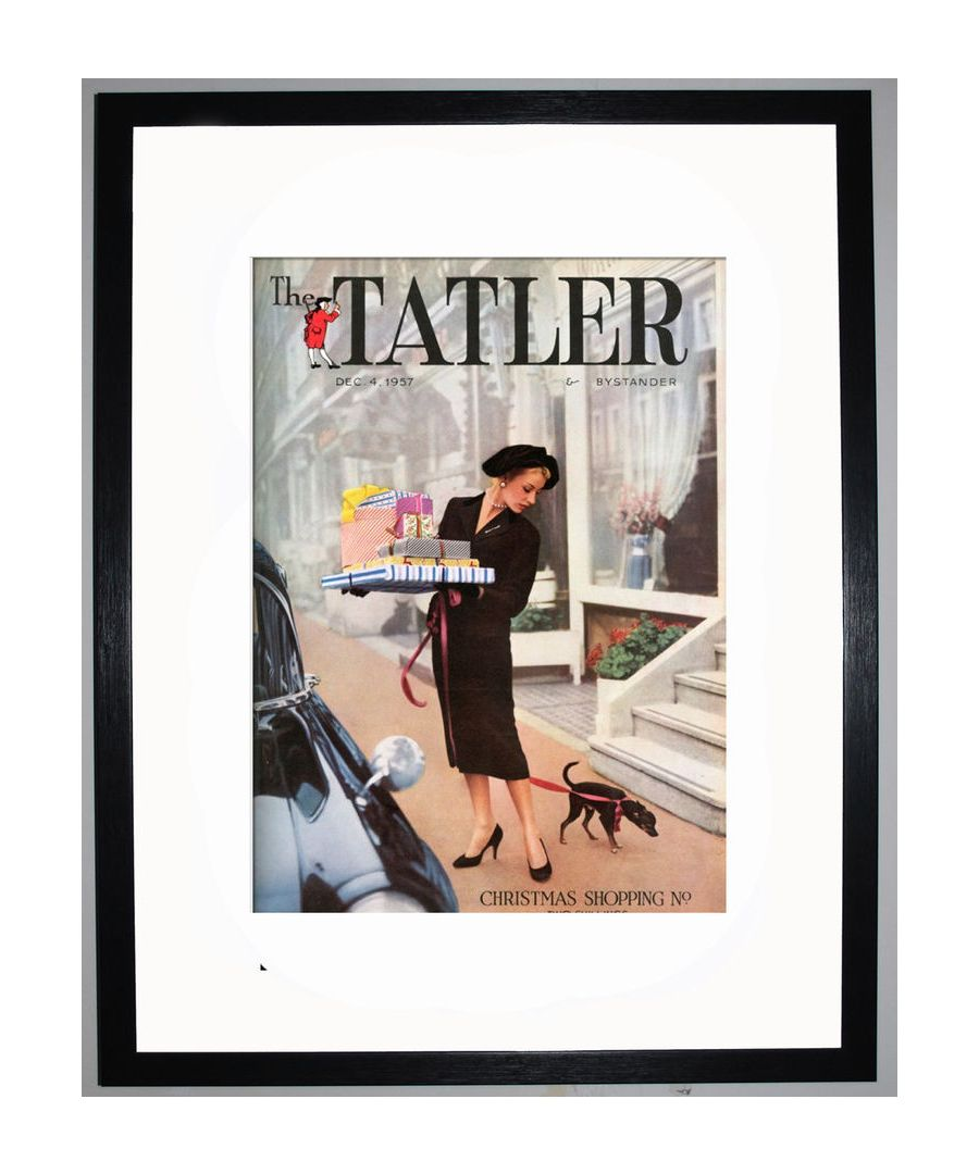Image for The Tatler, December 1957 Art print