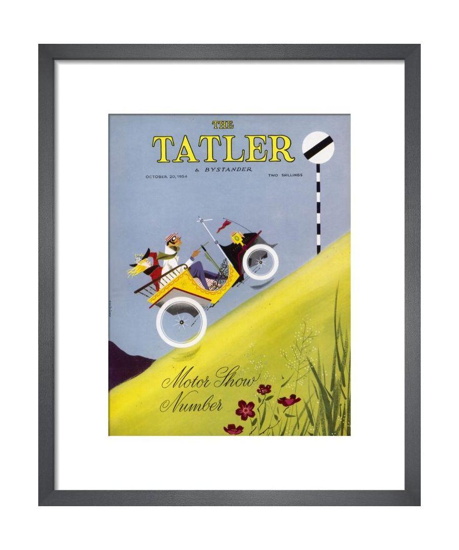 Image for The Tatler, October 1954 Art print