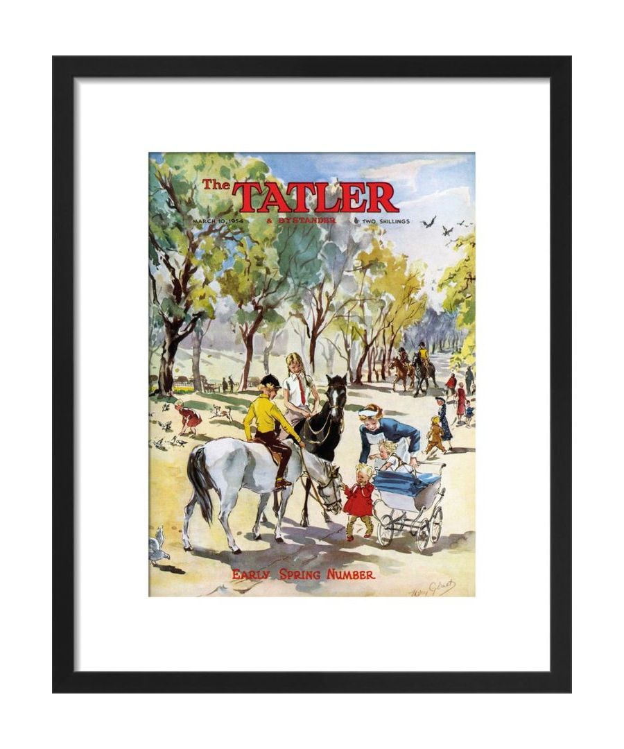 Image for The Tatler, March 1954 Art print