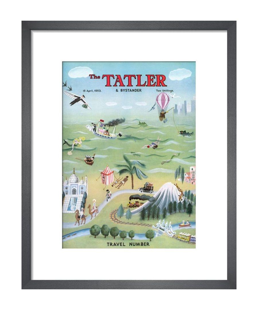 Image for The Tatler, April 1953 Art print