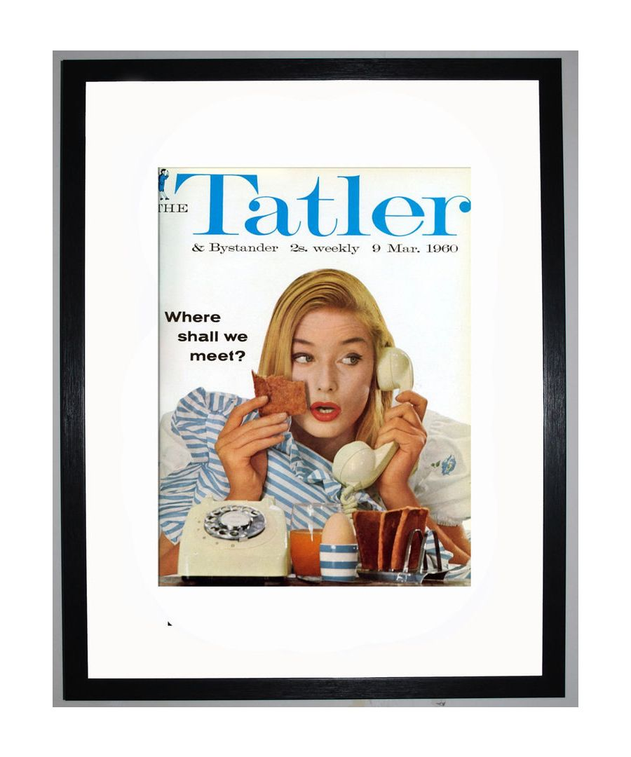Image for The Tatler, March 1960 Art print