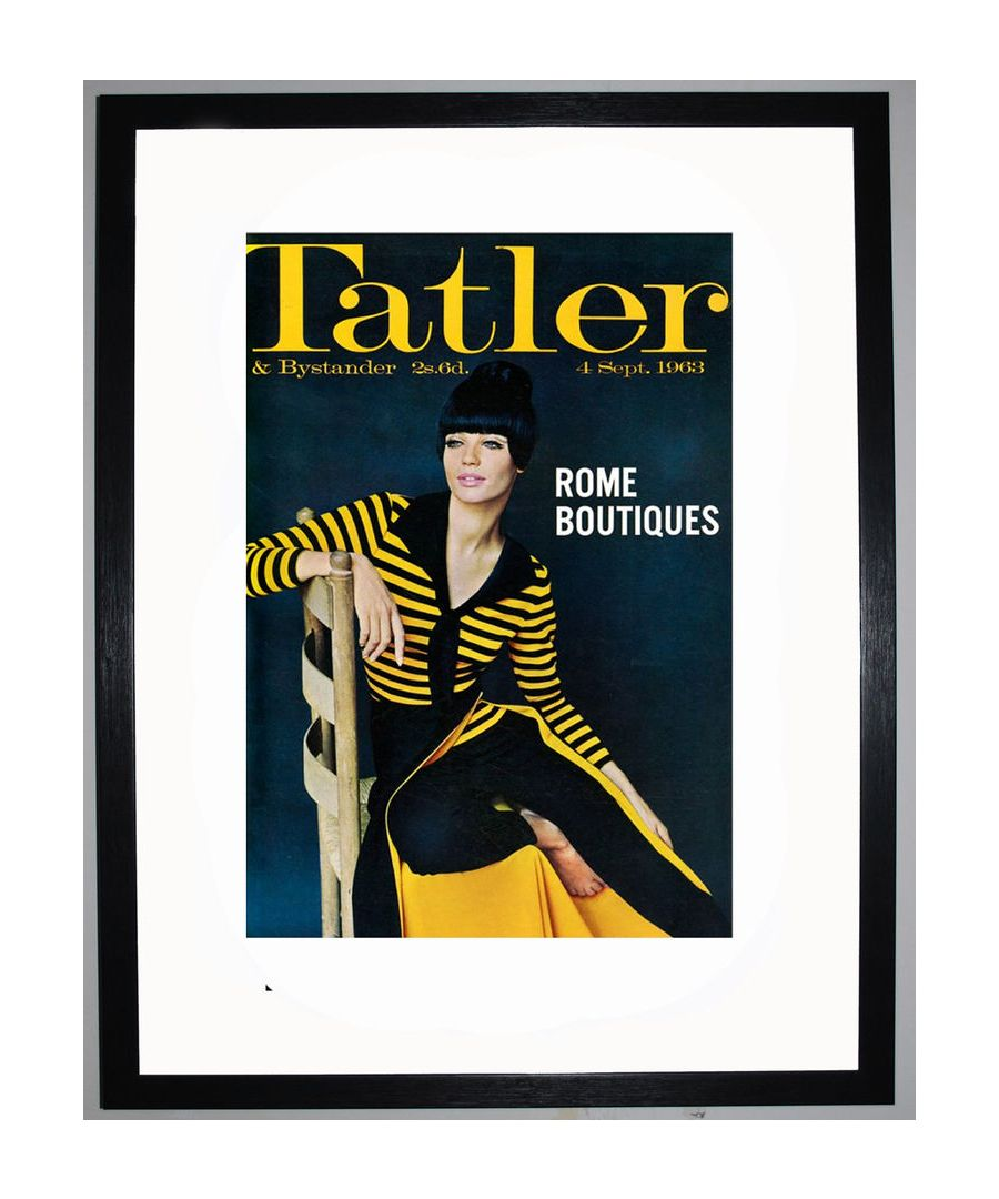 Image for The Tatler, Septmeber 1963 Art print