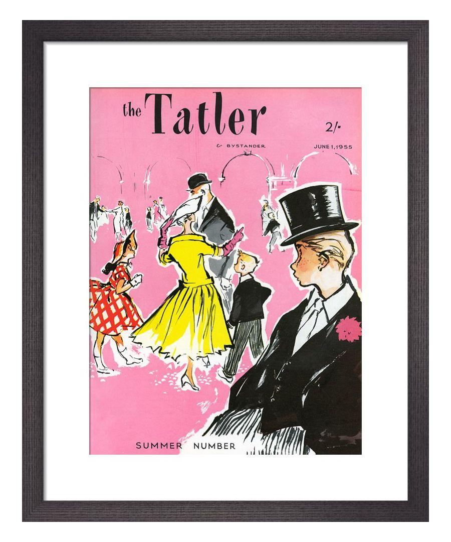 Image for The Tatler, June 1955 Art print