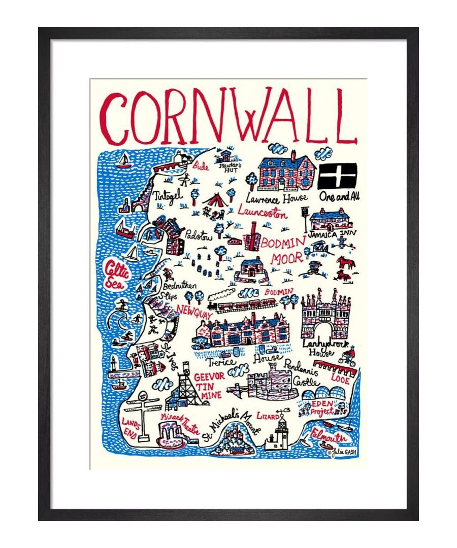 Image for Cornwall Cityscape by Julia Gash