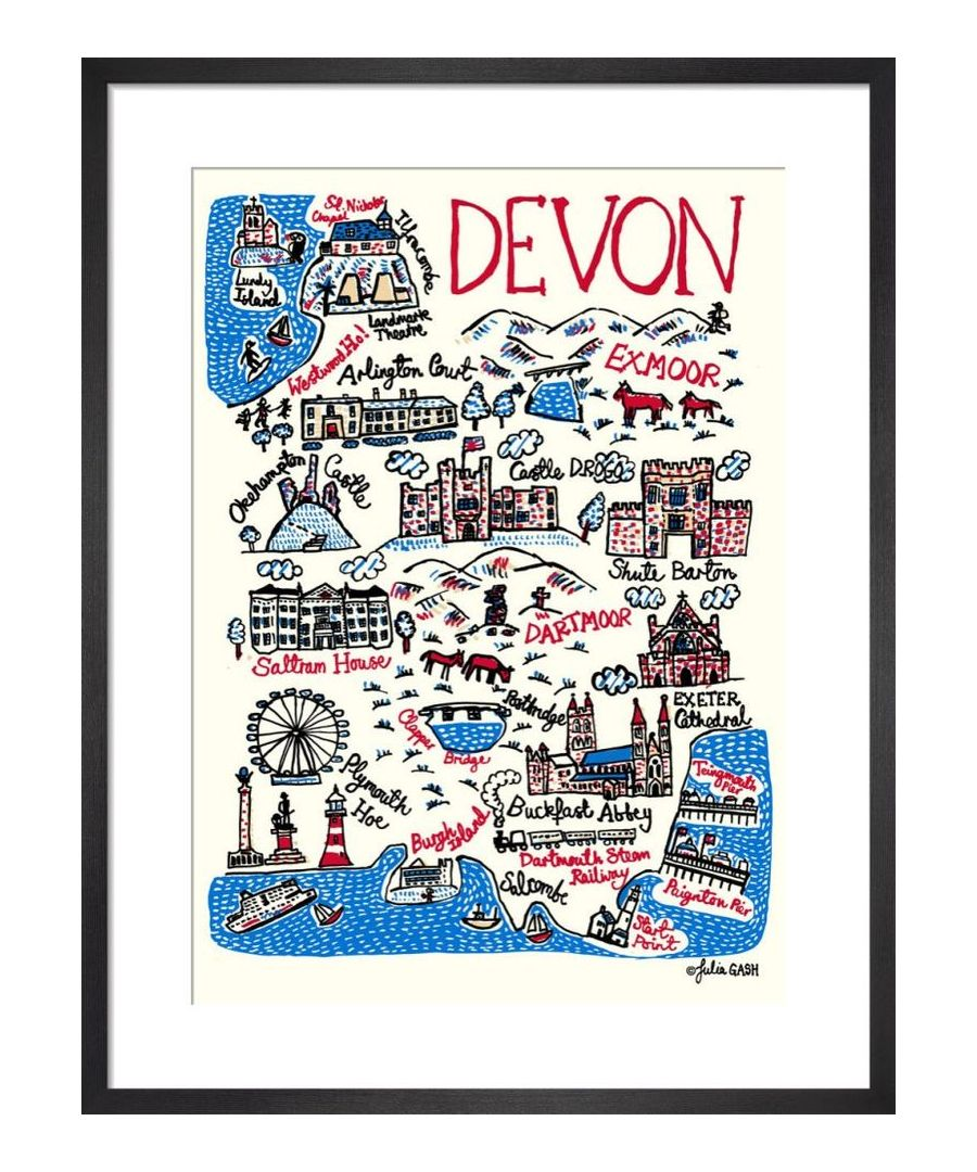 Image for Devon Cityscape by Julia Gash