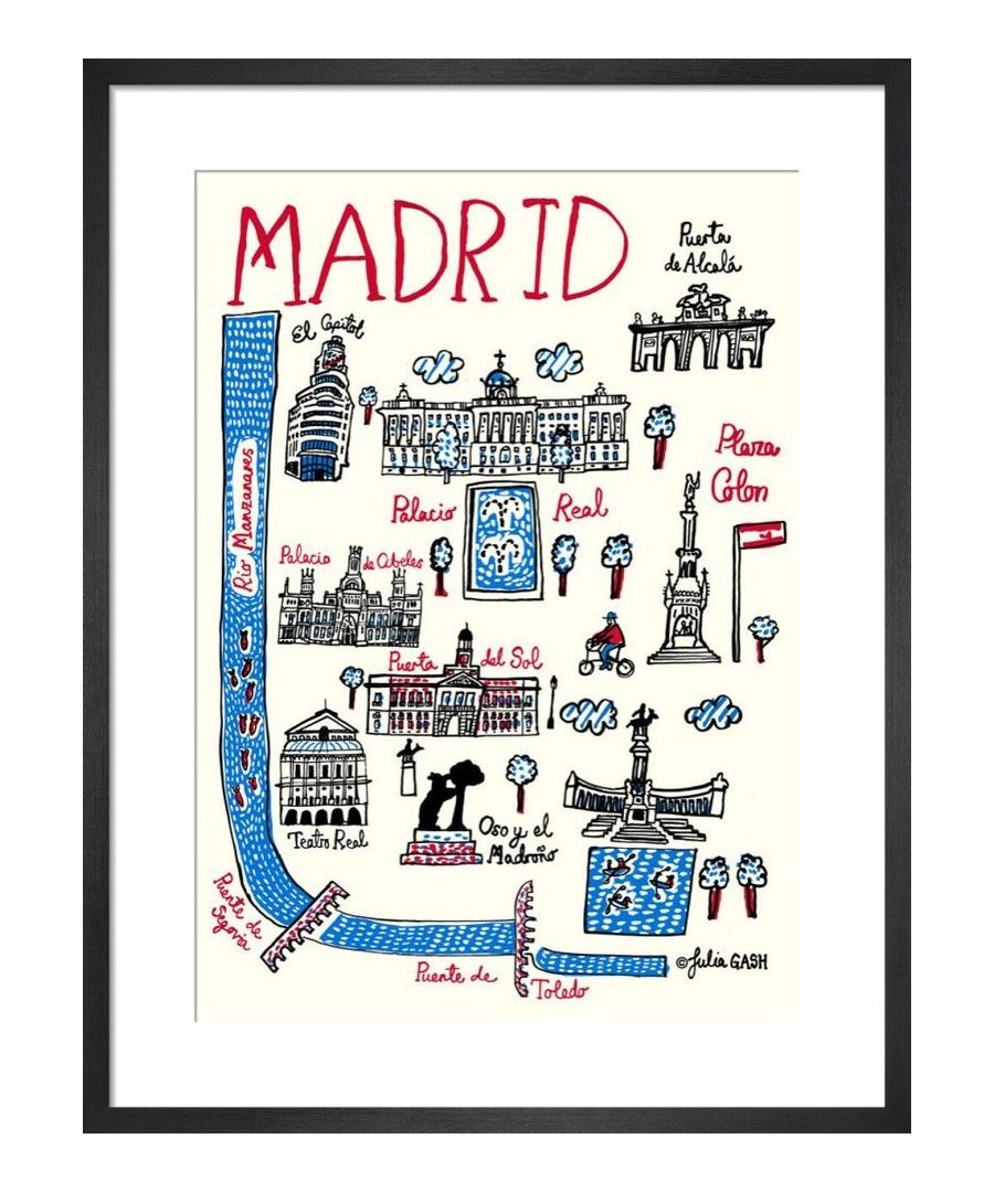 Image for Madrid Cityscape by Julia Gash