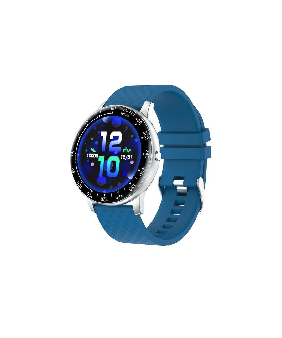 Image for Smartwatch 1.3 Inch Full Touch  - Blue