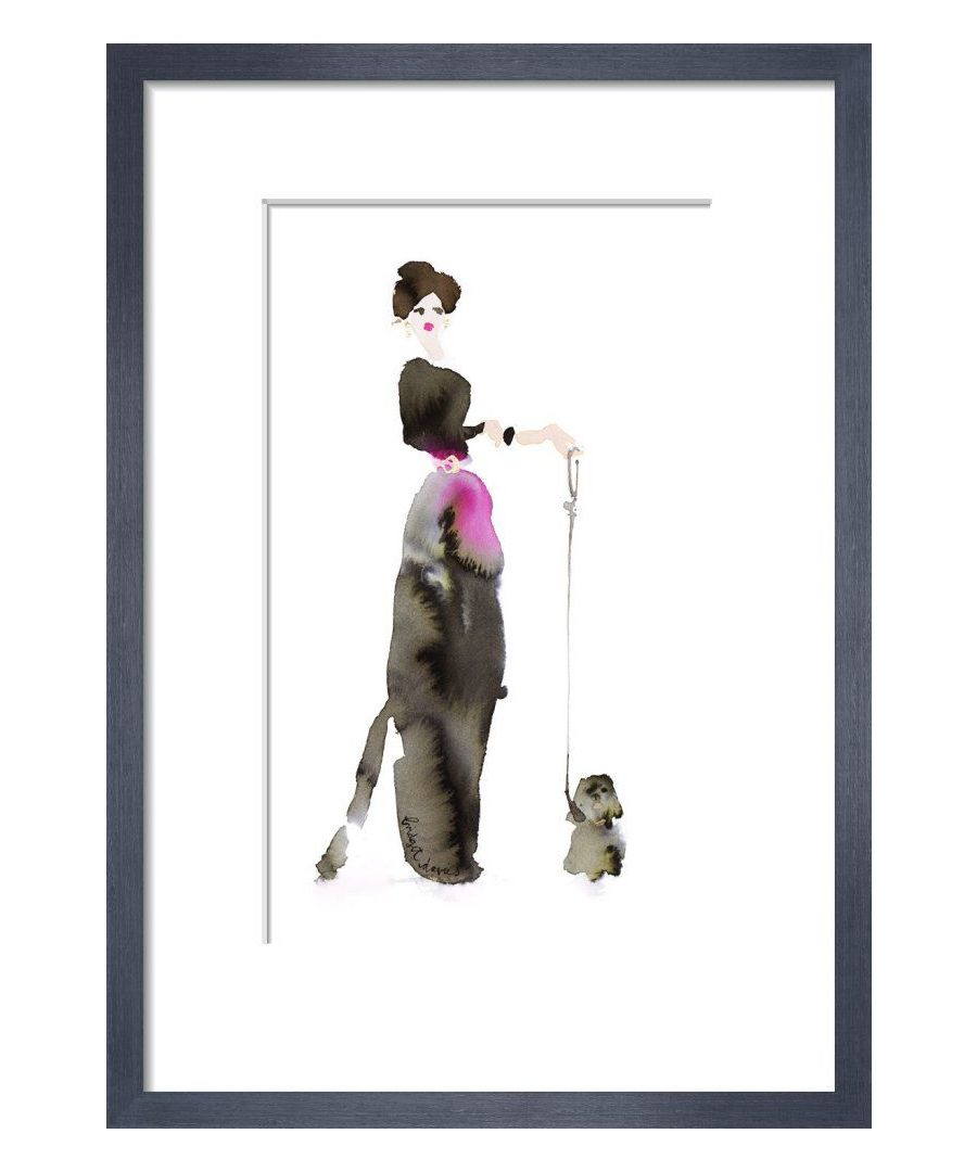 Image for What to Wear When Walking the Dogs - Black & Pink by Bridget Davies