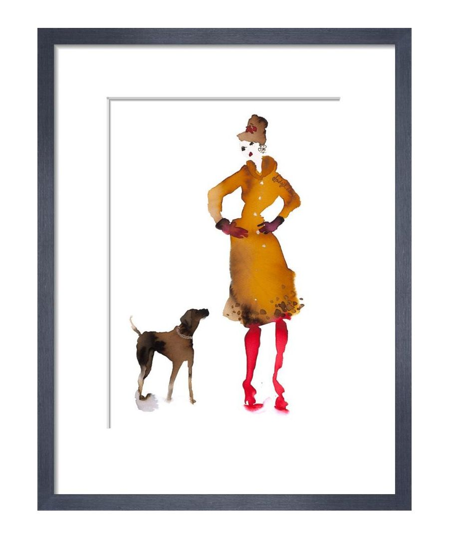 Image for What to Wear When Walking the Dogs - Red Boots by Bridget Davies