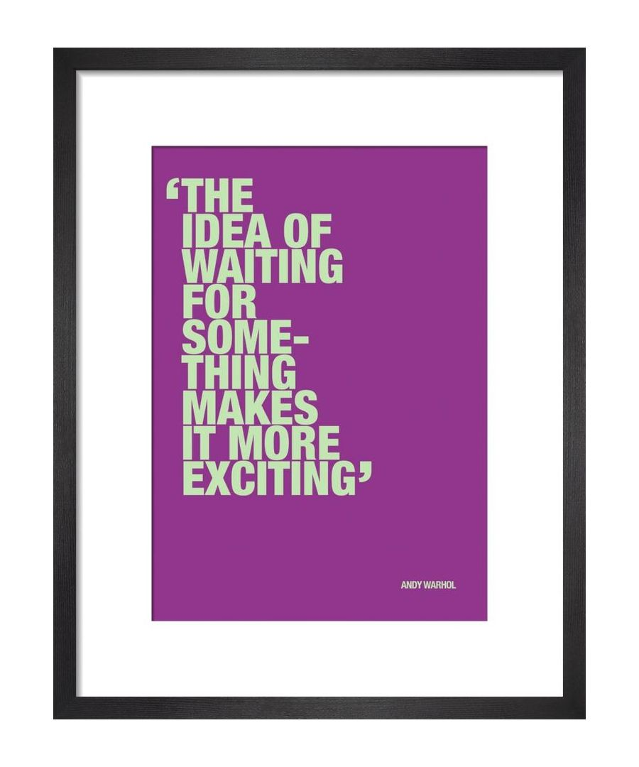 Image for Waiting for something by Andy Warhol