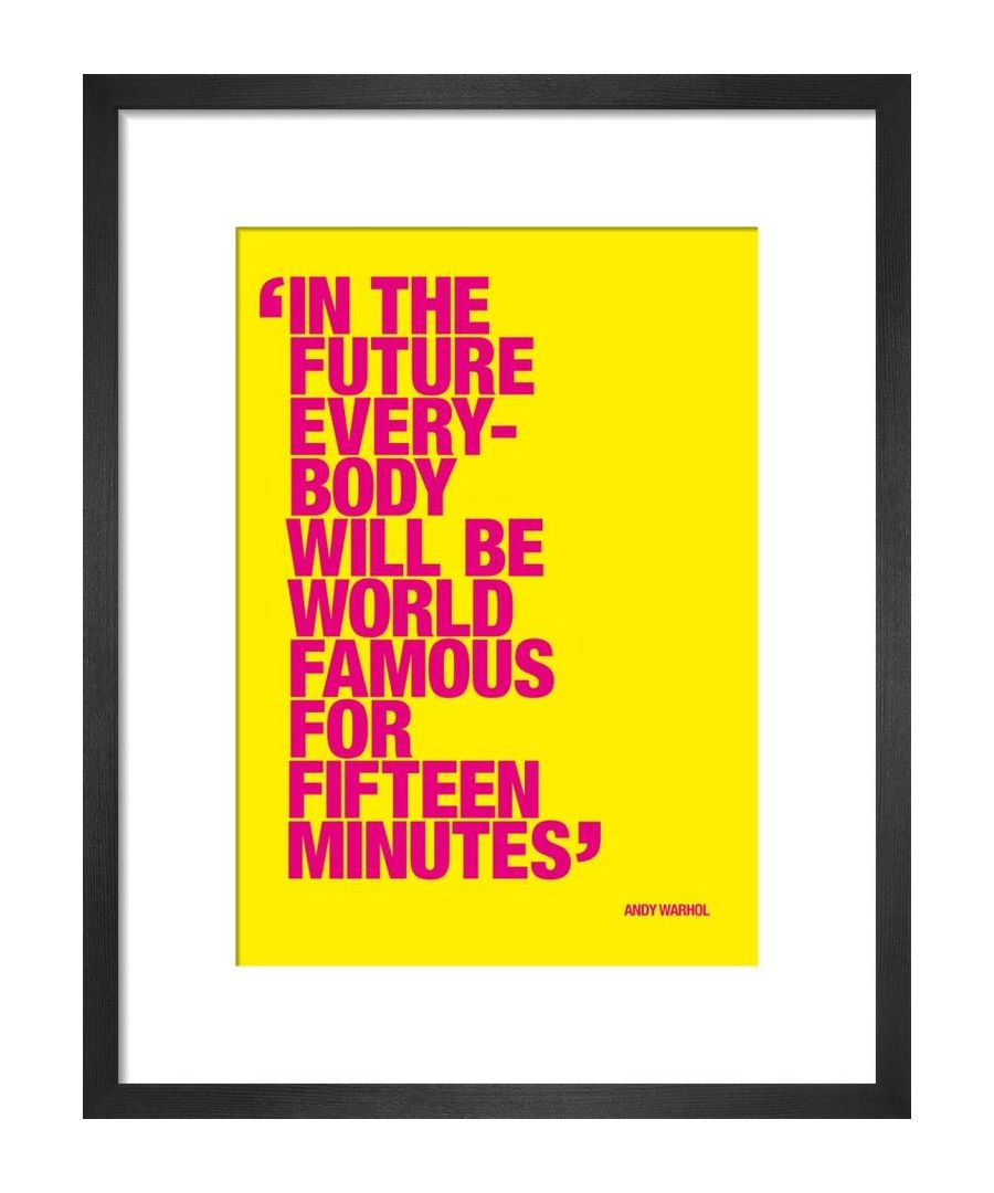 Image for Fifteen minutes by Andy Warhol