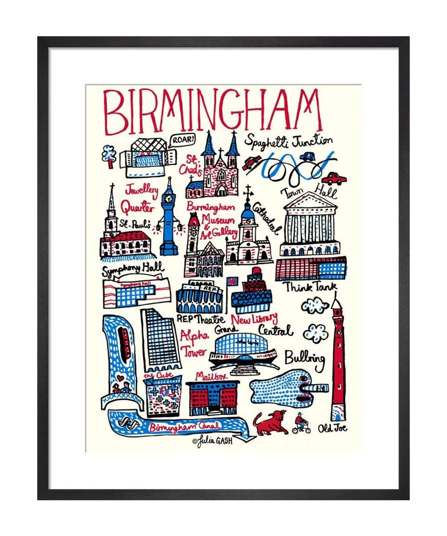 Image for Birmingham Cityscape by Julia Gash