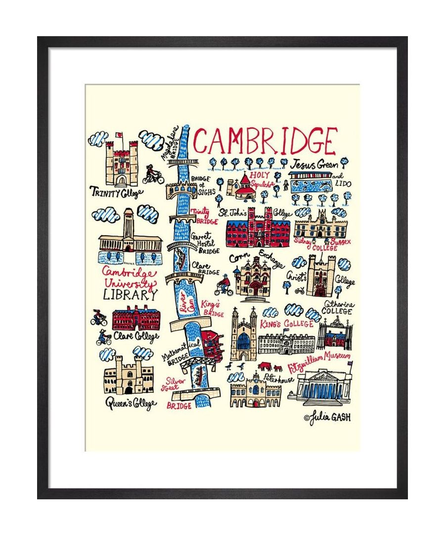 Image for Cambridge Cityscape by Julia Gash