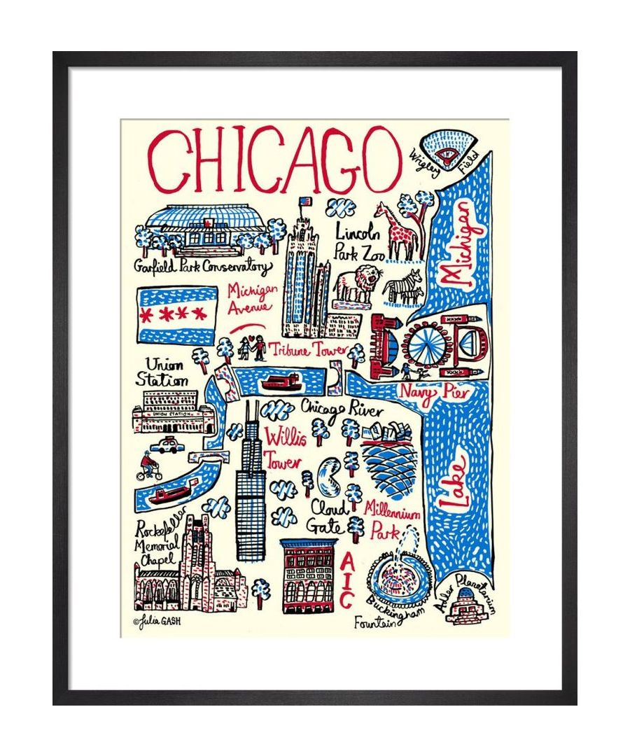 Image for Chicago Cityscape by Julia Gash
