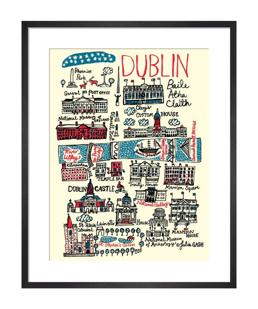 Image for Dublin Cityscape by Julia Gash