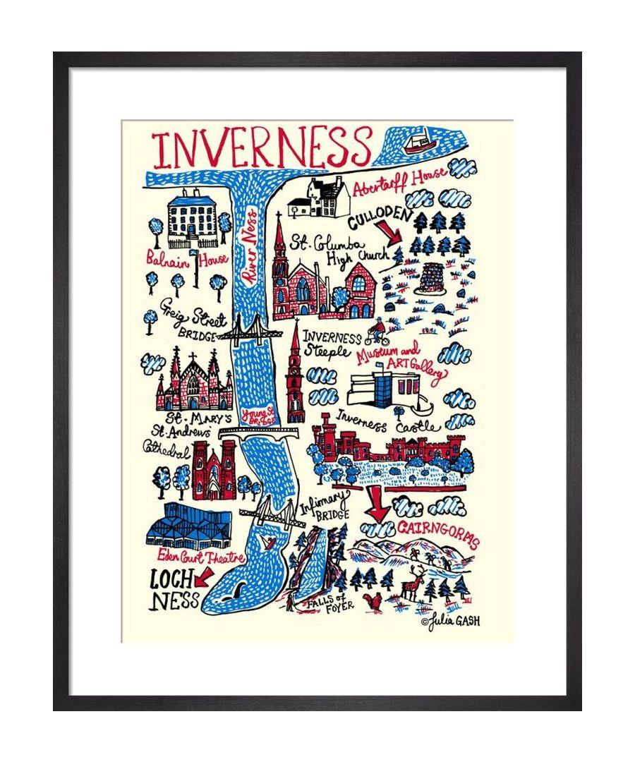 Image for Inverness Cityscape by Julia Gash