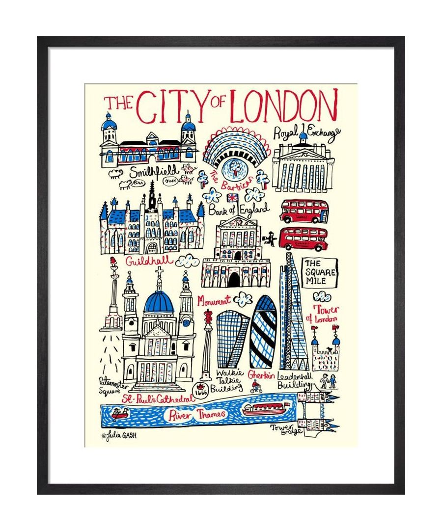 Image for City of London Cityscape by Julia Gash