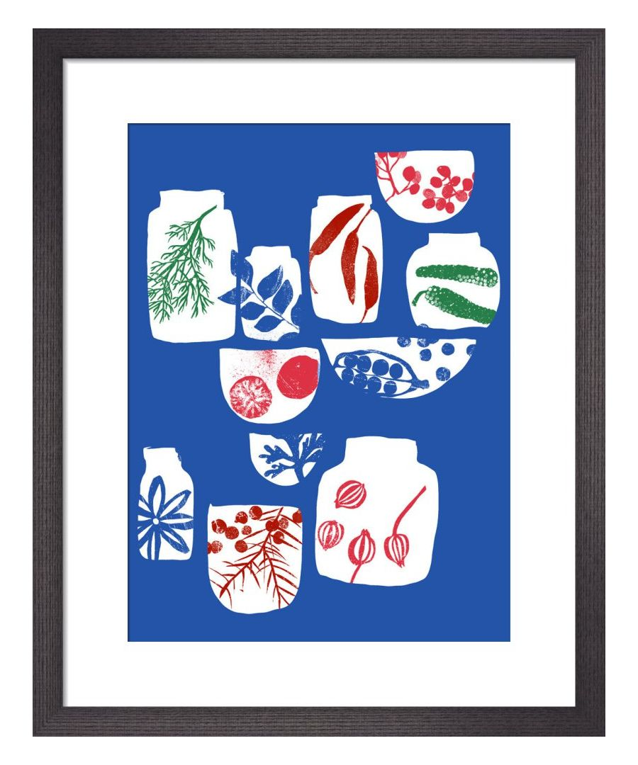 Image for Spices and Herbs Blue by Ana Zaja Petrak