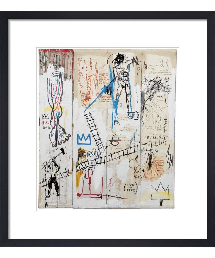 Image for Leonardo da Vinci's Greatest Hits, 1982 by Jean-Michel Basquiat