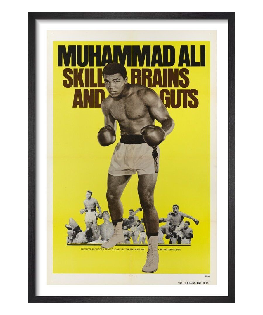 Image for Muhammad Ali - Skill, Brains and Guts by Cinema Greats
