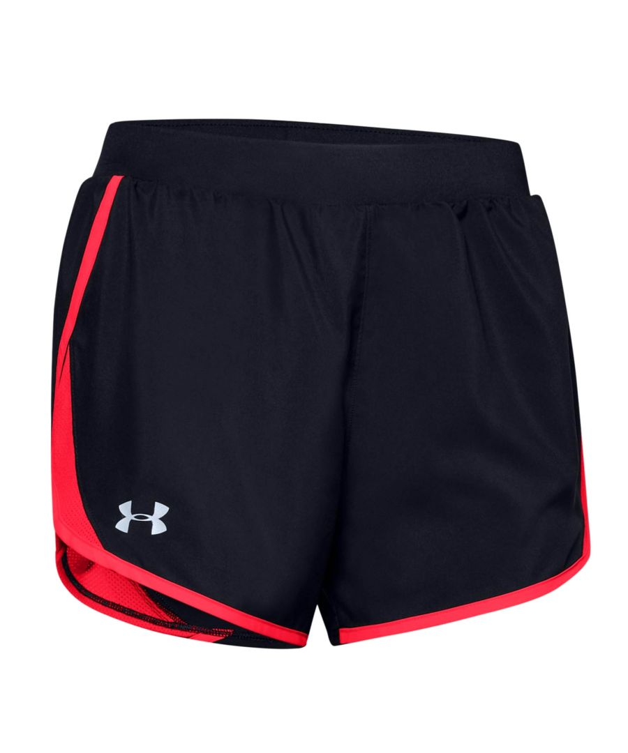 Image for Under Armour Fly By 2.0 Womens Short Black/Pink