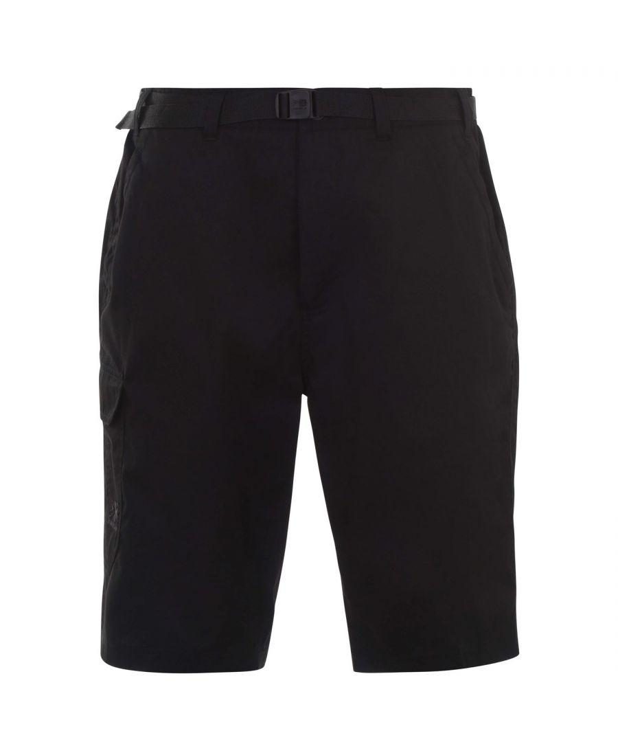 Image for Karrimor Mens Munro Short Pants Shorts Bottoms Belted 4 Pockets Zip Up Fly
